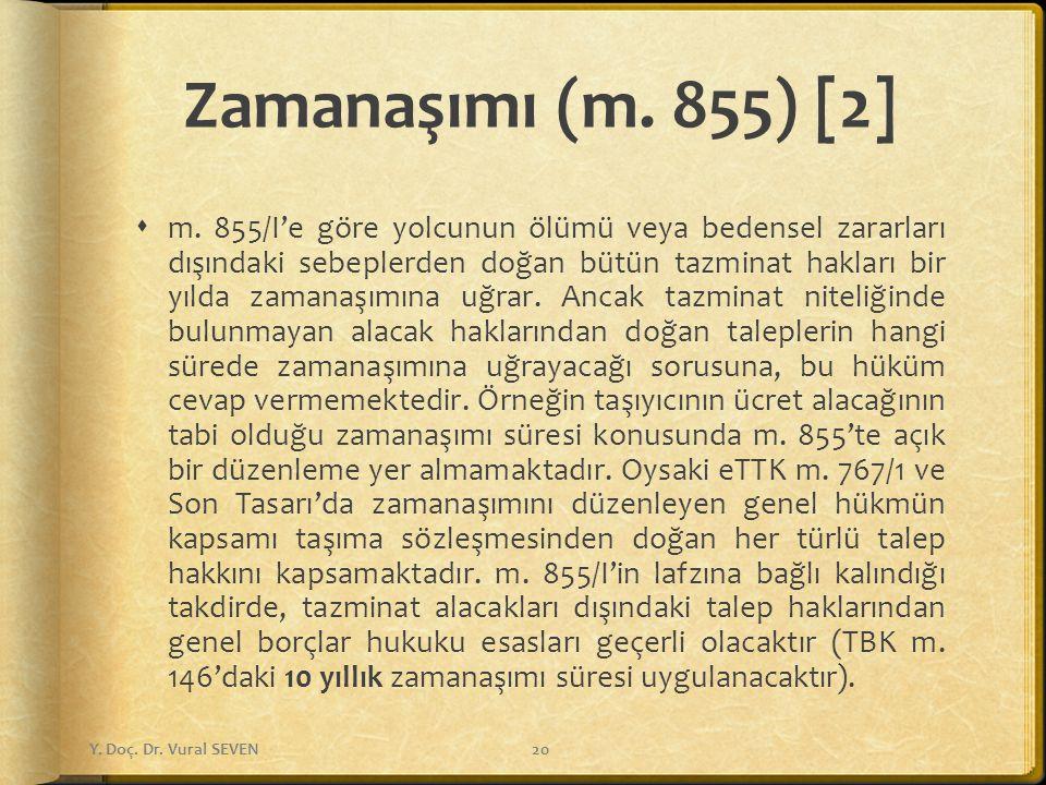 Zamanaşımı (m. 855) [2]